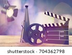 cinema. | Shutterstock . vector #704362798