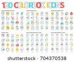 color box icons  illustrations  ...