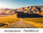 travel on the road to the rural ... | Shutterstock . vector #704380114