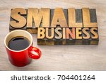 small business word abstract in ... | Shutterstock . vector #704401264