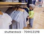cute little asian 18 months   1 ... | Shutterstock . vector #704413198
