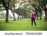 women exercising.women