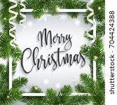 Merry Christmas Inscription...