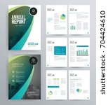 template design for company... | Shutterstock .eps vector #704424610