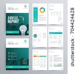 template design for company... | Shutterstock .eps vector #704424628