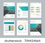 template design for company... | Shutterstock .eps vector #704424664