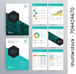 template design for company... | Shutterstock .eps vector #704424670