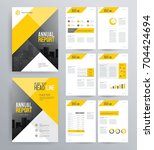 template design for company... | Shutterstock .eps vector #704424694