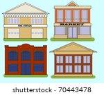 houses | Shutterstock .eps vector #70443478