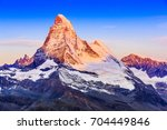 Zermatt  Switzerland. East And...