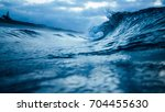 sea wave | Shutterstock . vector #704455630