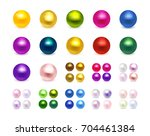 big collection of colorful... | Shutterstock .eps vector #704461384