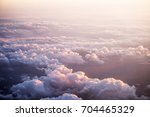 sunset and clouds | Shutterstock . vector #704465329
