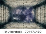 old gate to the stars  ... | Shutterstock . vector #704471410