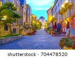 bana hills  da nang  vietnam... | Shutterstock . vector #704478520