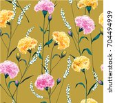 trendy  floral pattern in the... | Shutterstock .eps vector #704494939