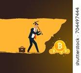 business concept illustration.... | Shutterstock .eps vector #704497444