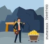 business concept illustration....   Shutterstock .eps vector #704497450