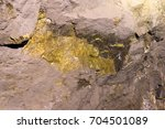 Ore Lode Inside A Gold And...