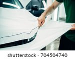 car paint protection  protect... | Shutterstock . vector #704504740