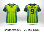 green and black layout football ... | Shutterstock .eps vector #704511838