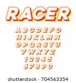 raster speed racing sport... | Shutterstock . vector #704563354