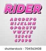raster speed racing sport... | Shutterstock . vector #704563408