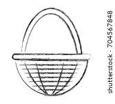 egg basket icon | Shutterstock .eps vector #704567848