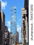 type of building tower tribeca   Shutterstock . vector #704571850