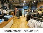saint petersburg  russia  ... | Shutterstock . vector #704605714