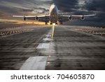 Passenger Aircraft Takes Off...