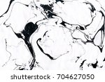 black and white marble... | Shutterstock . vector #704627050