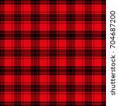seamless tartan pattern. ... | Shutterstock .eps vector #704687200