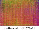 colorful glitchy noice tv... | Shutterstock . vector #704691613