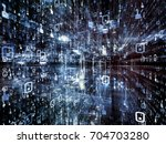 digital city series. abstract... | Shutterstock . vector #704703280