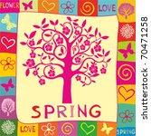 spring background.   Shutterstock .eps vector #70471258