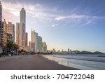 balneario camboriu beach and...   Shutterstock . vector #704722048