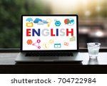 english   british england... | Shutterstock . vector #704722984