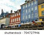 copenhagen  denmark   july 27 ... | Shutterstock . vector #704727946
