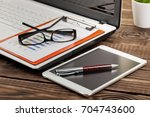 business accounting | Shutterstock . vector #704743600