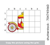 finish the simmetry picture...   Shutterstock .eps vector #704745460