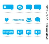 Like  Follower  Comment Icons ...