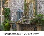 garden | Shutterstock . vector #704757994