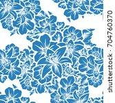 abstract elegance seamless... | Shutterstock . vector #704760370