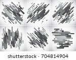 modern stripes abstract... | Shutterstock .eps vector #704814904