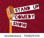 Vector Stand Up Comedy...