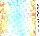colorful scratched vintage... | Shutterstock . vector #704830093
