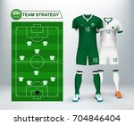 saudi arabia home and away... | Shutterstock .eps vector #704846404