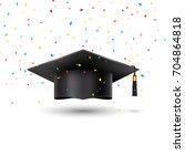 education graduation university ... | Shutterstock .eps vector #704864818