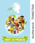 poster for international day of ... | Shutterstock .eps vector #704867560